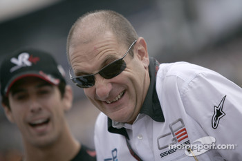 Bruno Michel, GP2 Series Organiser with Lucas Di Grassi, Virgin Racing