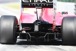 Ferrari Rear diffuser