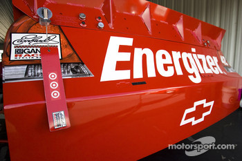 Car detail, Juan Pablo Montoya, Earnhardt Ganassi Racing Chevrolet