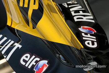 Renault F1 Team engine cover detail