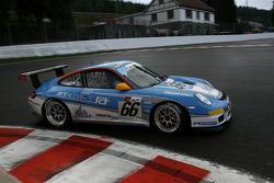 #66 Jetalliance Racing Porsche 997 GT3 Cup GTN: Lukas Lichtner-Hoyer, Vitus Eckert, Marco Seefried, Martin Rich