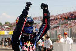Race winner Mark Webber, Red Bull Racing