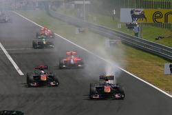 Jaime Alguersuari, Scuderia Toro Rosso engine blew