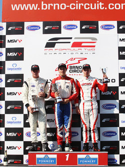 Podium and results: 1st: Jolyon Palmer, 2nd: Dean Stoneman, 3rd: Kazim Vasiliauskas