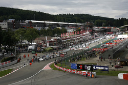Call to the starting grid