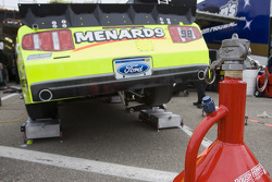 The No. 98 Menards Ford