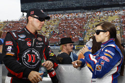 Kevin Harvick and Danica Patrick