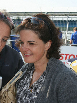 Jean-Eric Vergne's mother