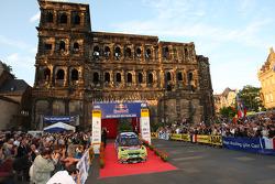Jari-Matti Latvala and Miikka Anttila, Ford Focus RS WRC08, BP Ford Abu Dhabi World Rally Team