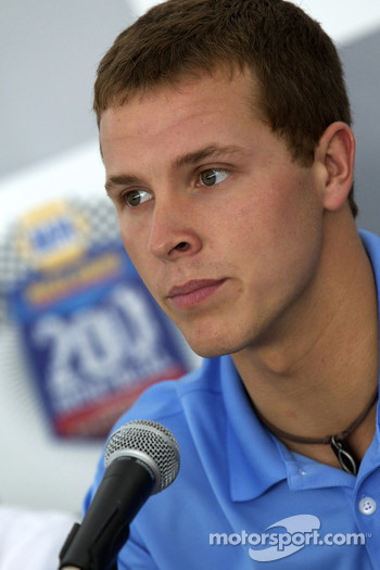 Pre-event press conference: Trevor Bayne