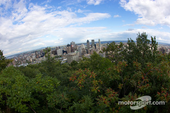 A view of downtown Montréal