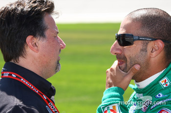 Michael Andretti and Tony Kanaan, Andretti Autosport