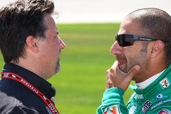 Michael Andretti and Tony Kanaan, Andretti Autosport