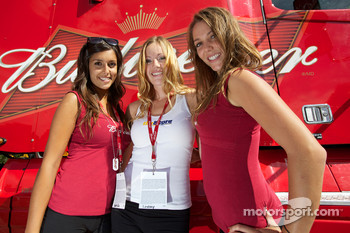 Lovely Budweiser girls