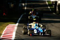 Roberto Merhi leads Renger Van Der Zande