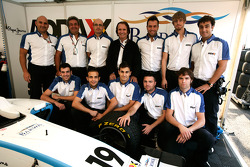 Emerson Fittipaldi and the Addax team