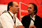 Frederic Vasseur and Emerson Fittipaldi