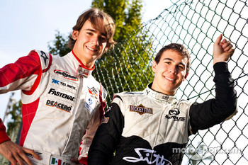 Esteban Gutierrez and Robert Wickens winner of race 16 and 17 in the GP3 Championship