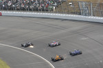 Alex Tagliani, FAZZT Race Team leads a group of cars