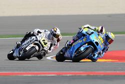 Alvaro Bautista, Rizla Suzuki MotoGP, Randy De Puniet, LCR Honda MotoGP