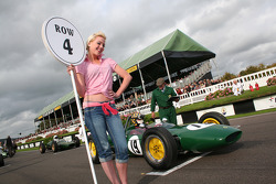 A lovely Goodwood grid girl