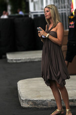Isabell Reis girlfriend of Timo Glock