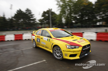 Nicholai Georgiou and Joseph Matar, Mitsubishi Lancer Evo X, Pirelli Star Driver