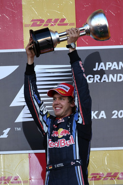 Last year's Japanese GP winner Vettel