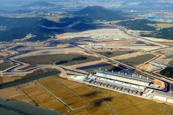 Aerial view of the Korea International Circuit
