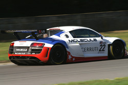 #22 United Autosports AUDI R8 LMS: Michael Guasch, Mark Patterson