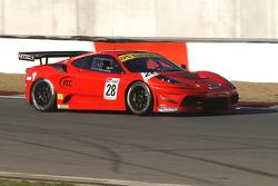 #28 Duncan Cameron Racing Ferrari 430 Scuderia: Duncan Cameron, Matthew Griffin