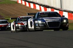 Sainteloc-Phoenix Racing AUDIs, #5: Pierre Hirschi, Gregory Guilvert; #6: Jerome Demay, Bruce Lorgere-Roux