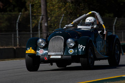 #197 enduro '62 Morgan plus 4 SS: Carlton Shriver