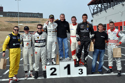GT1 Karting in Navarra: the podium