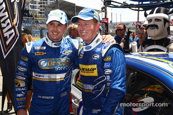 Mark Winterbottom and Steve Richards lock out the front row for Ford Performance Racing