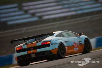 #99 Gulf Team First Lamborghini LP560: Fabien Giroix, Roald Goethe, Frdric Fatien