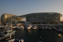 The Yas Marina circuit