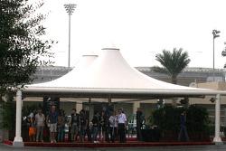 Rain hits Abu Dhabi