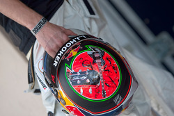 Brendon Hartley helmet
