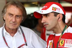 Luca di Montezemolo, Scuderia Ferrari, FIAT Chairman and President of Ferrari, Marc Gene, Test Driver, Scuderia Ferrari