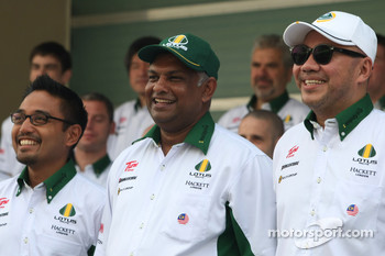 Tony Fernandes, Lotus F1 Team