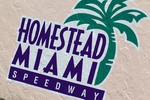 Championship contenders pre-race press conference: Homestead-Miami Speedway signage