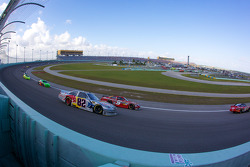 Scott Speed, Red Bull Racing Team Toyota, Aric Almirola, Richard Petty Motorsports Ford