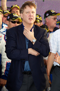 Championship victory lane: Brian France