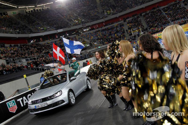 Tom Kristensen and Heikki Kovalainen for Team Nordic