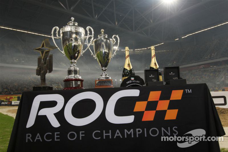 Race of Champions trophies