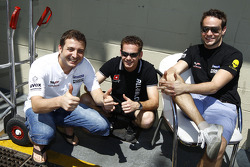 Marc Hennerici, Marc Basseng and Alexandros Margaritis