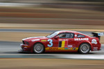 #3 VDS Racing Adventures 2007 Ford Mustang Red, whi: Raphael van der Straten, Christian Kelders, Christophe Kerkhove