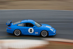 #8 Lucky Dog Racing 2005 Porsche GT3 Cup blue: Jack Baldwin, Sean Rayhall