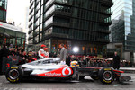Lewis Hamilton, McLaren Mercedes, Jenson Button, McLaren Mercedes